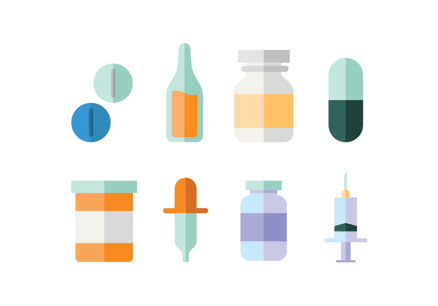 Medical supplies flat design - Download Free Vectors, Clipart Graphics & Vector Art