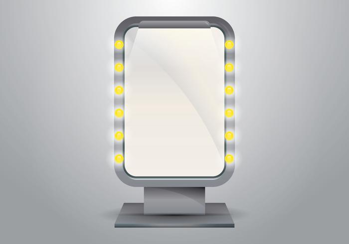 Vector Lighted Makeup Mirror for Dressing Room