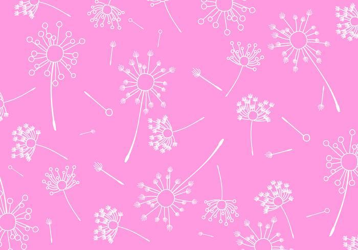 Blowball Pattern Free Vector