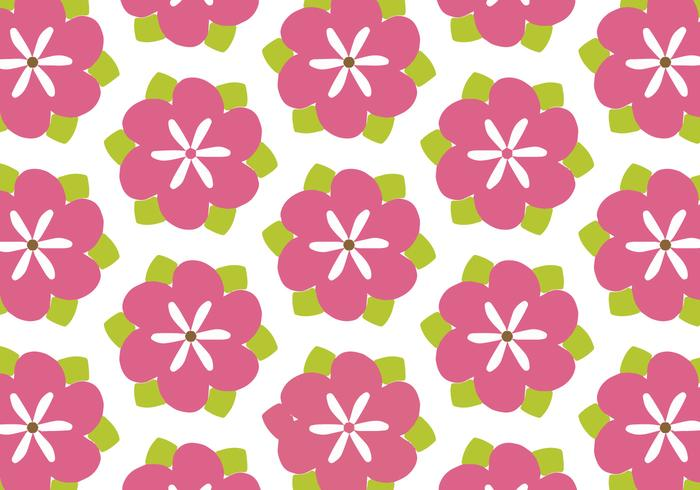 Petunia Background Pattern Free Vector