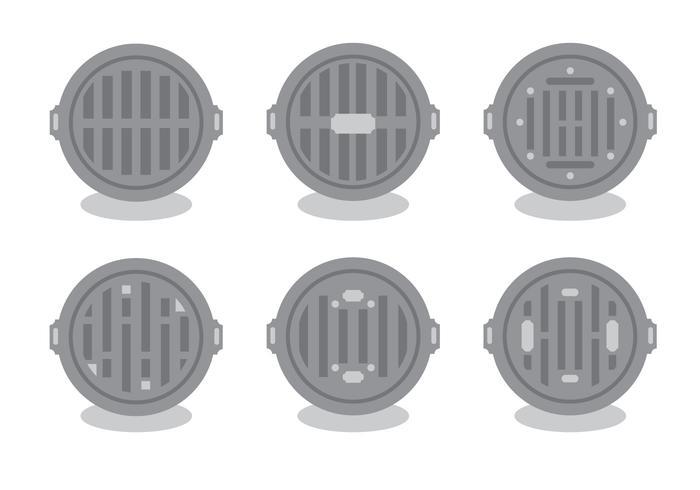 Bueiro Vector Set