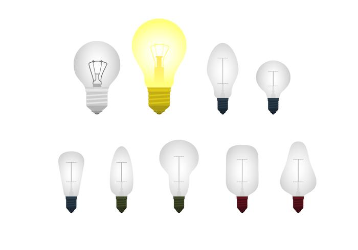 Light Bulb Ampoule Free Vector
