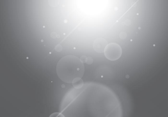 Grey Gradient Background Bokeh Free Vector