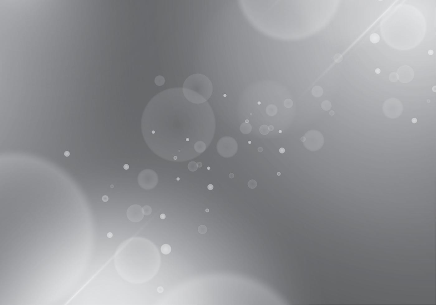 Grey Gradient Background Bokeh Glam Free Vector