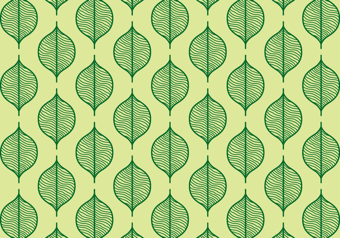green seamless leaf background download free vector art