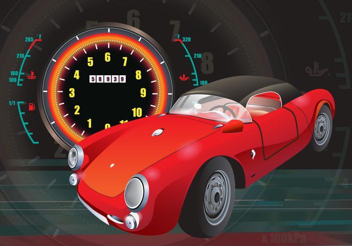 Carros Classico Vector