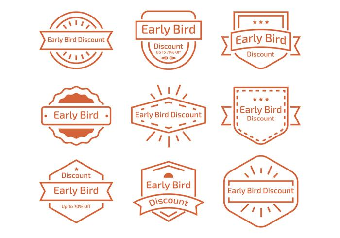 Early Bird Linje Label