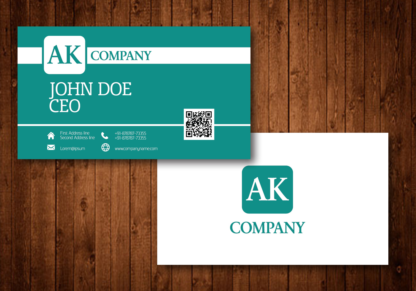 Business Card Free Vector Art - (25290 Free Downloads)