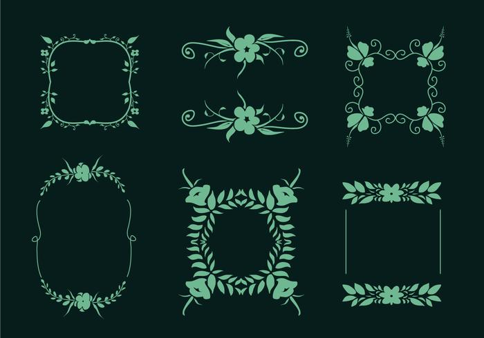 Flower Embellishments Vector