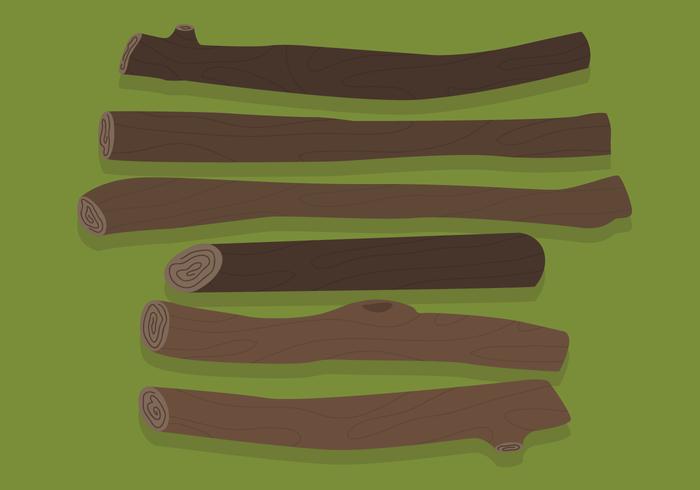 Wood Logs Vectors