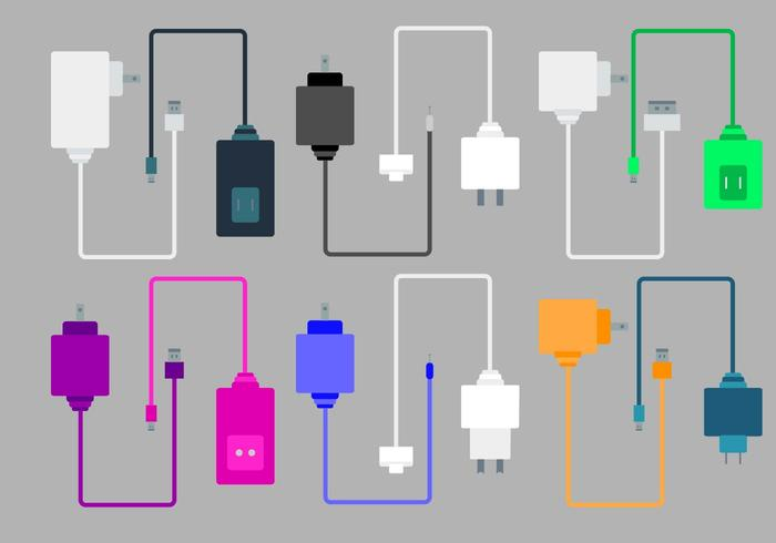 Free Phone Chargers Vector