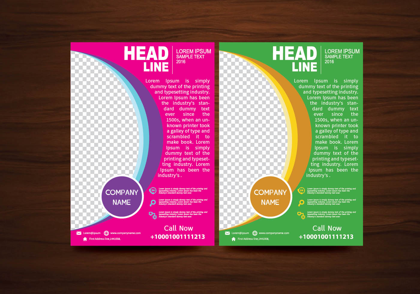 tri fold brochure vector template vector art vector brochure flyer design layout template in a4 size