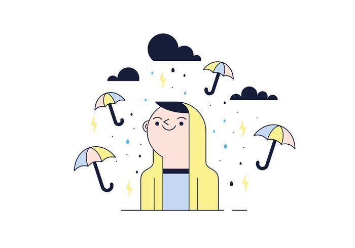 Vector libre de la tormenta