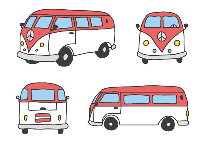 Die Classic Caravan vektor