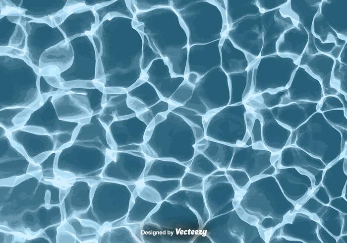 Realistic Water Texture - Vector