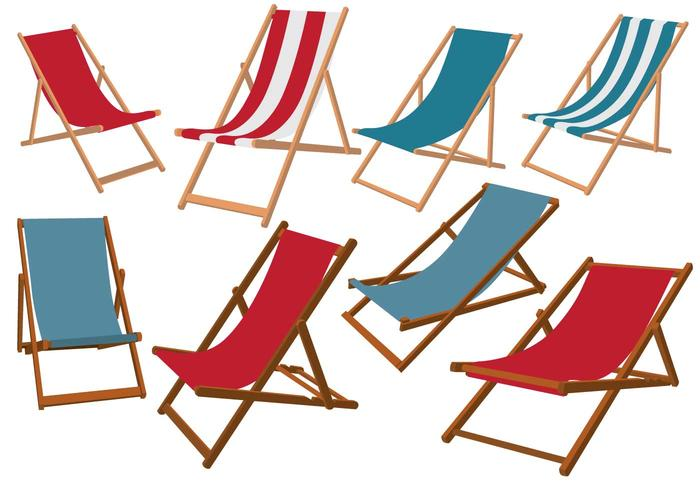 Vecteurs chaise longue