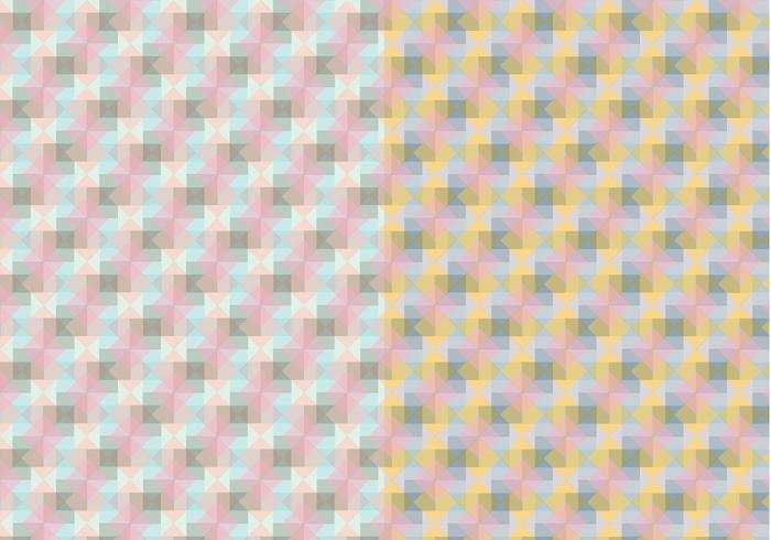 Padrão Pastel quadrado vetor
