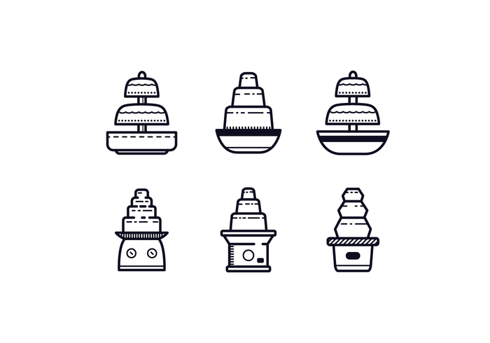 Free Chocolate Fountain Icons