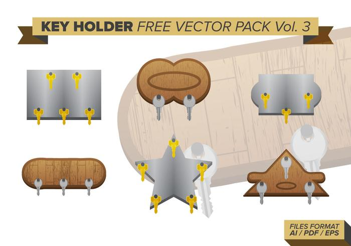 Key Holder Gratis Vector Pack Vol. 3