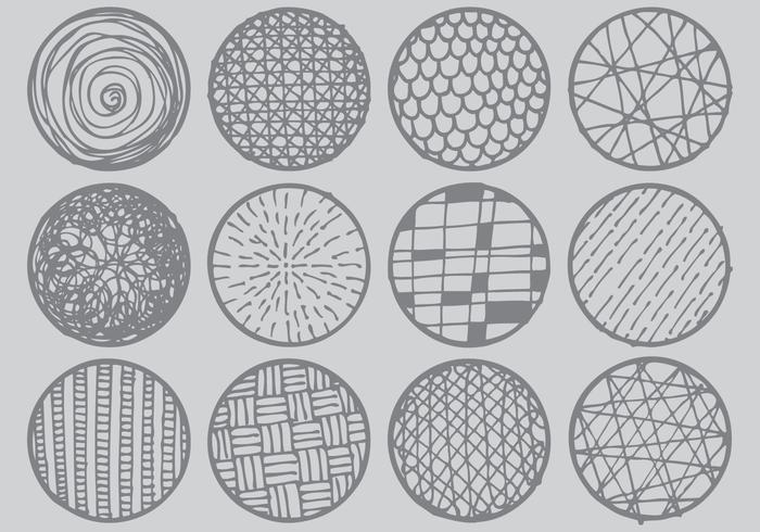 Schackmönster-Cirklar