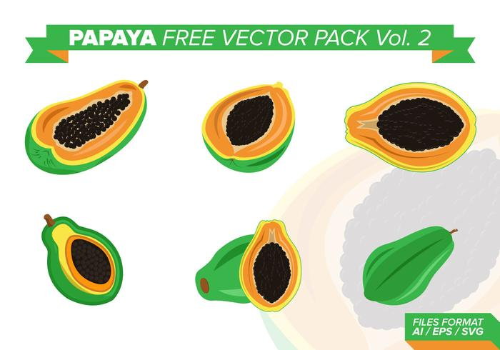 Papaya Free Vector Pack Vol. 2