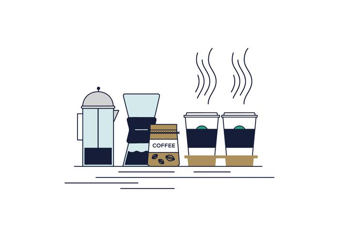 Free Take Off Coffee Vector