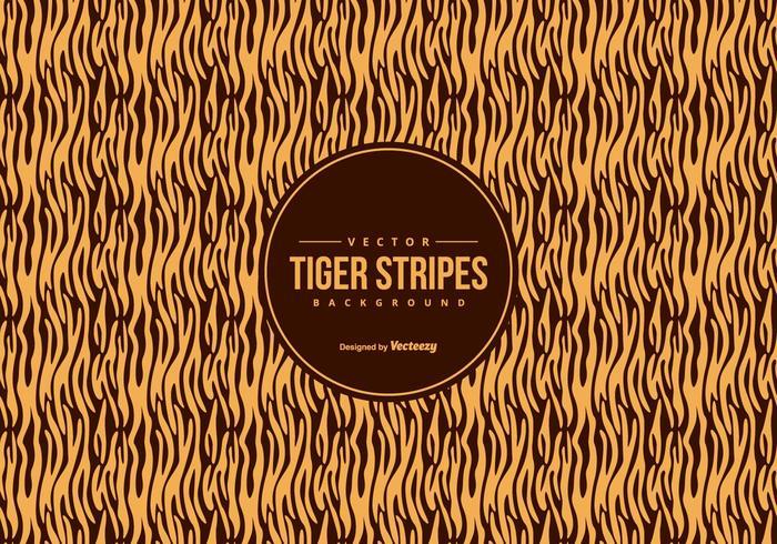 Orange / Black Tiger Pattern