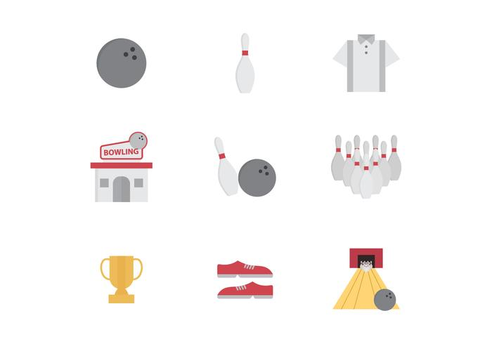 Free Bowling Vector Icons