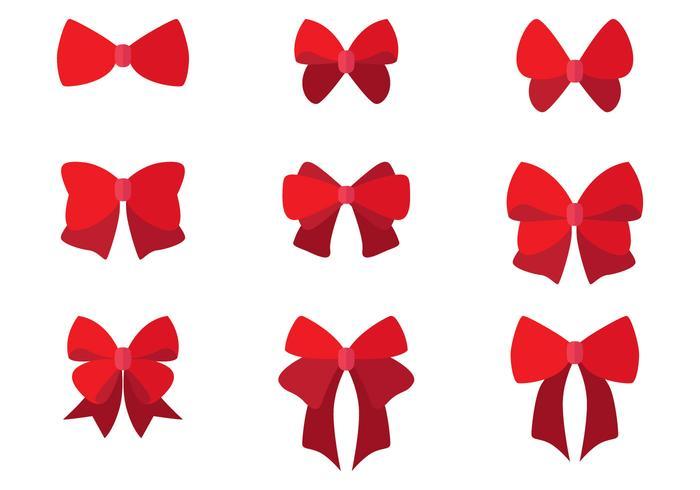 Set of Flat Hair Ribbons