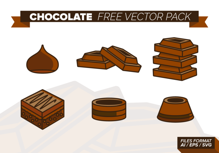 Chocolate Vector Pack