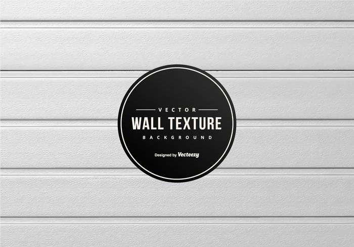 Antecedentes El panel de pared de madera blanca vector