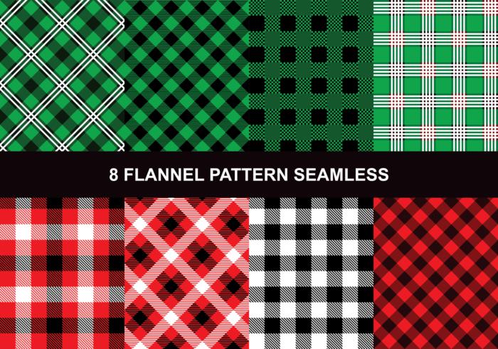 Flanelle Seamless vecteur