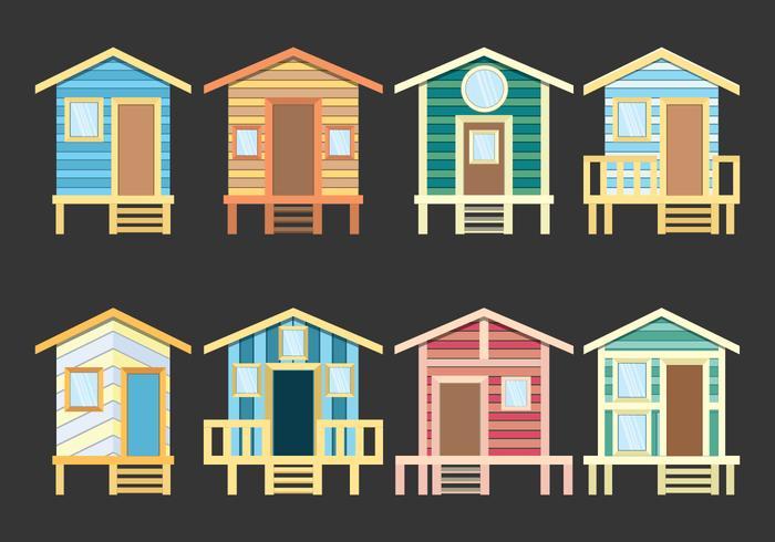 Beach Cabana Icons