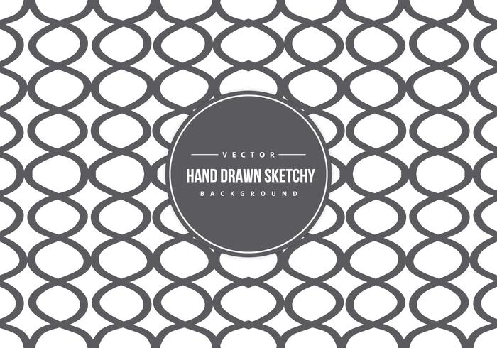 Cute Hand Drawn Style Background Pattern