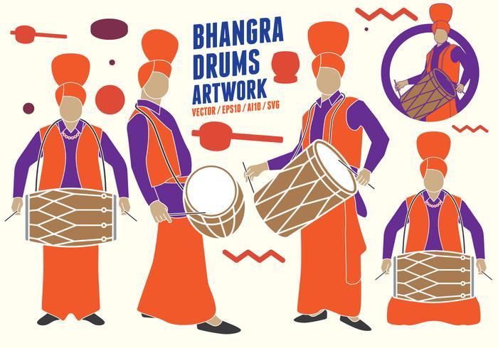 Punjabi Trommelscijfers