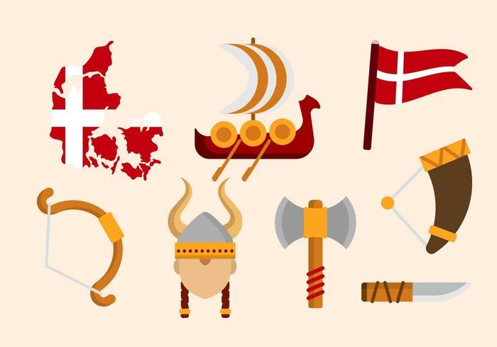 Vectores daneses gratuitas