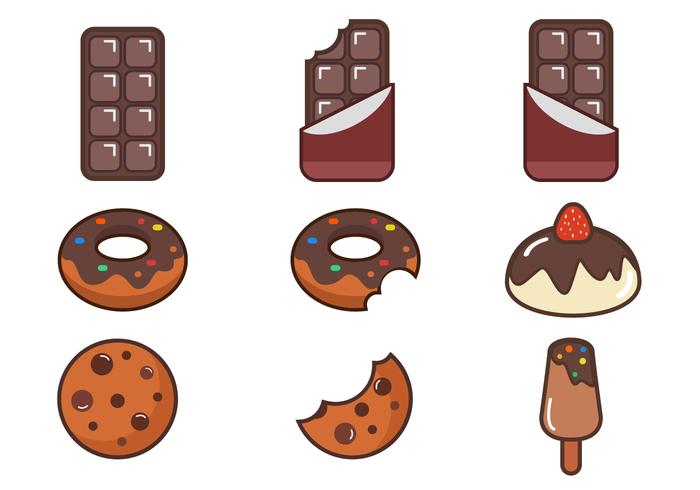 Chocolate Vector Item Pack