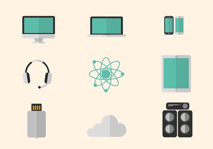 Flat Technology Vectors