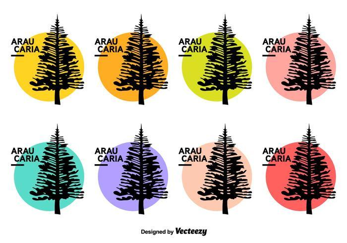 Araucaria Vector Icons