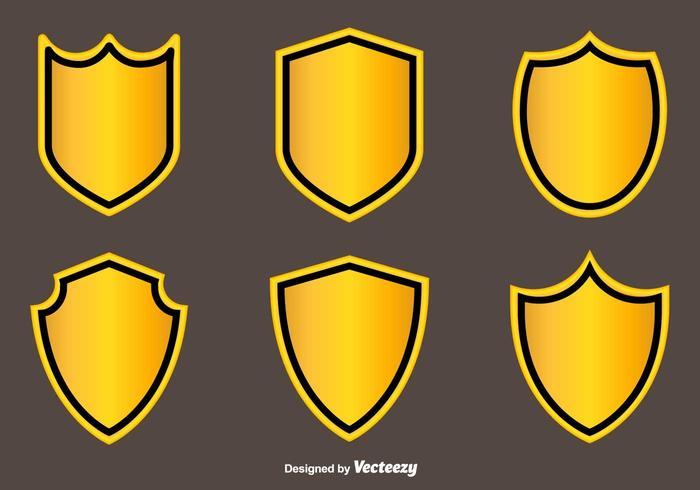 Blason Vector Flat Icons