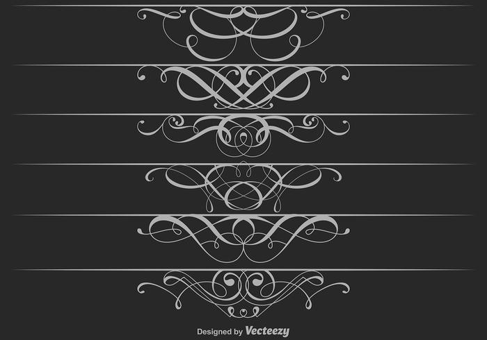 Ornamental Dividers Vector