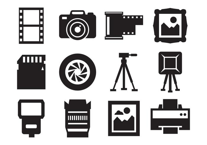 Free Photography and Camera Icons Vector - Download Free Vector ...