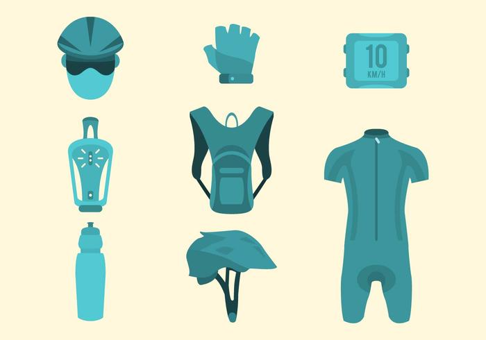 Free Bike Gear Vector Collection