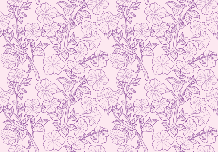 Petunia Seamless Patterns