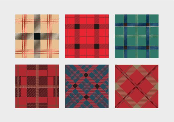 Colorful Flannel Pattern Vector
