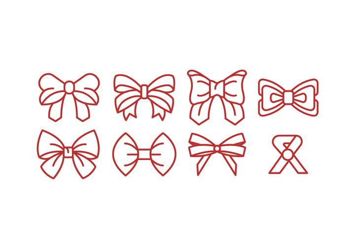 Ribbon Vector Icons