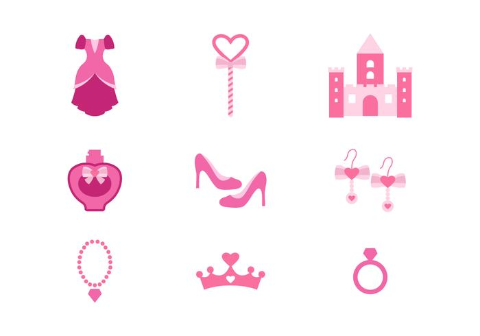 Free Princess Vector Icons
