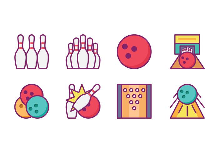 Bright Bowling Icon Pack