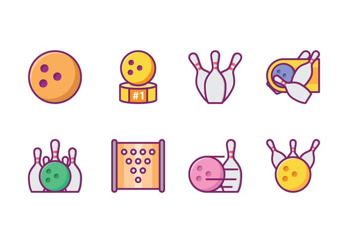 Gratis Bowling Icon Pack