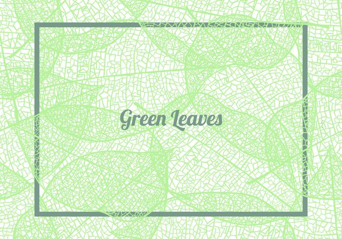 Seamless Pattern Background Of Green Leaves